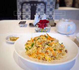 高級中華料理店の上品な桜エビ入りチャーハンの写真・画像素材[4466010]
