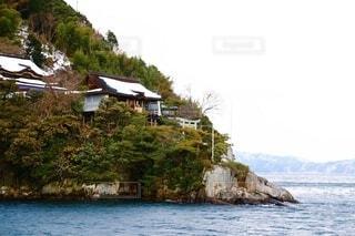 竹生島の写真・画像素材[4022085]