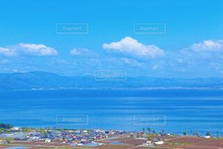 びわ湖の写真・画像素材[4438365]