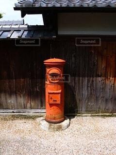 郵便ポストの写真・画像素材[4637113]