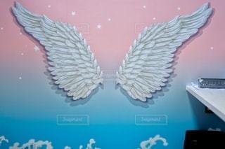 インスタ映えの羽の写真・画像素材[3499810]