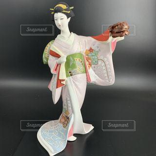博多人形 日本人形 女性の写真・画像素材[3496958]