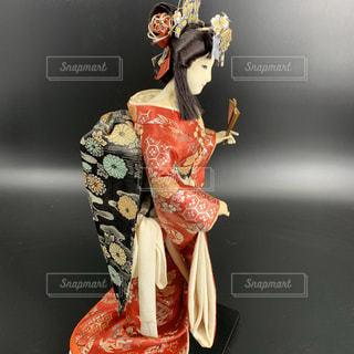 博多人形 日本人形 女性の写真・画像素材[3496964]
