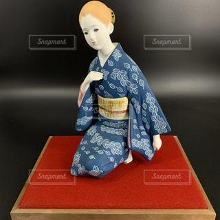 博多人形 日本人形 女性の写真・画像素材[3496976]