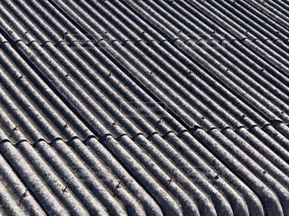 建物 工場 屋根 パターンの写真・画像素材[3497074]