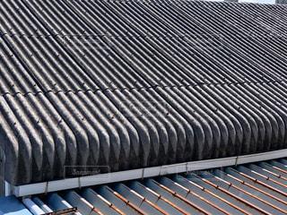 工場 屋根 鉄板の写真・画像素材[3497071]