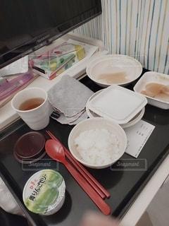 抜歯後の食事の写真・画像素材[3494876]