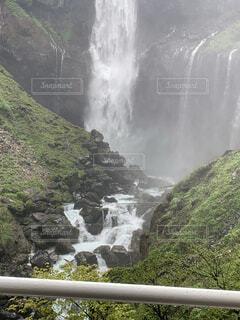 日光の華厳の滝の写真・画像素材[3627847]