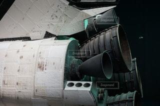 スペースシャトルの横からの写真・画像素材[3507027]