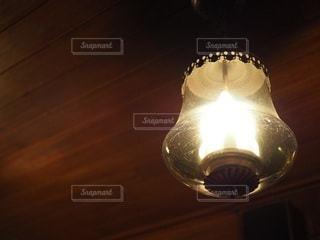 喫茶店ランプの写真・画像素材[3515274]
