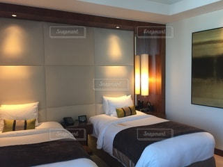 ホテルの部屋の写真・画像素材[3511904]