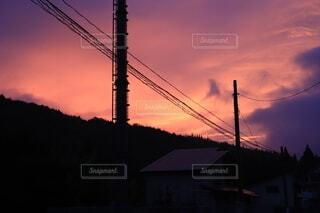 朝日がある風景の写真・画像素材[3668418]