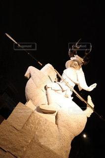 武将の像の写真・画像素材[3510273]