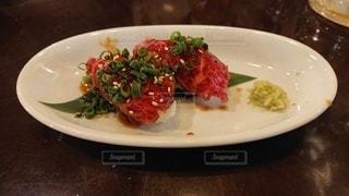 肉寿司の写真・画像素材[3527481]