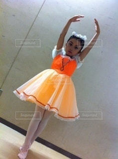 バレエの発表会の写真・画像素材[3520287]