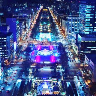 札幌夜景の写真・画像素材[3514810]
