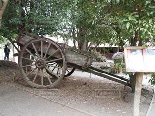 ベンチの隣に自転車が駐車しているの写真・画像素材[3526448]