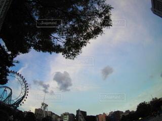 街の通りの眺めの写真・画像素材[3720761]