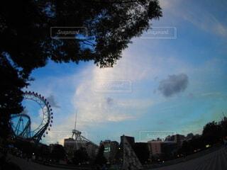 街の通りの眺めの写真・画像素材[3723040]