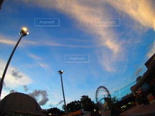 街の通りの眺めの写真・画像素材[3723046]