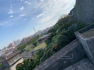石造りの建物の眺めの写真・画像素材[3517807]