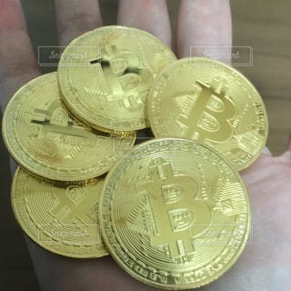 ビットコインの写真・画像素材[3522774]