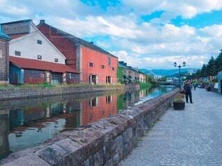 小樽運河の写真・画像素材[3630260]