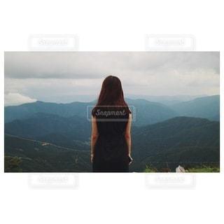 山の眺めの写真・画像素材[3530609]