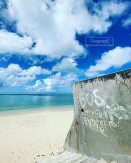 秘密のビーチの写真・画像素材[3574101]