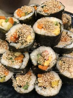 寿司の束の写真・画像素材[4420156]