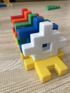 おもちゃのクローズアップの写真・画像素材[3595857]