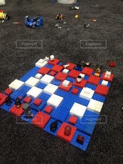 レゴ製チェスの写真・画像素材[2694898]