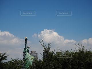 お台場の自由の女神の写真・画像素材[3608231]