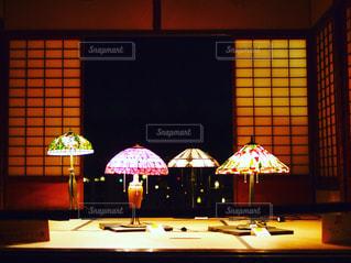 和なステンドグラスの写真・画像素材[901262]