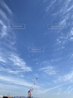 空の雲の群れの写真・画像素材[4194775]
