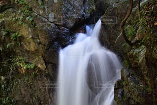滝の上の部分の写真・画像素材[3651582]