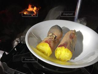焼き芋の写真・画像素材[3574022]
