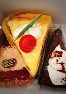 ショートケーキの写真・画像素材[3744350]