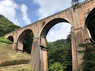 碓氷峠 めがね橋の写真・画像素材[3583213]