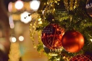 クリスマスツリーの飾りの写真・画像素材[3904511]