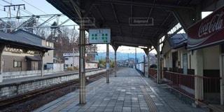 駅のホームの写真・画像素材[3575848]