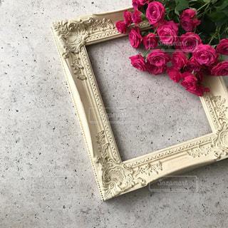 近くの花のアップの写真・画像素材[968733]