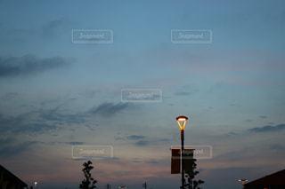 空の雲のクローズアップの写真・画像素材[2852354]