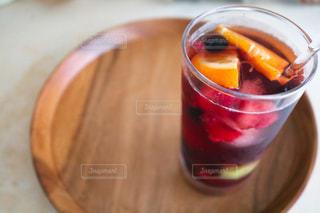 オレンジジュース1杯の写真・画像素材[2852401]