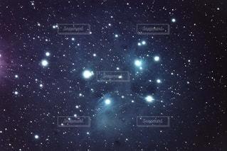 プレアデス星団の写真・画像素材[3580628]