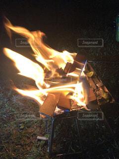 炎の写真・画像素材[3620851]