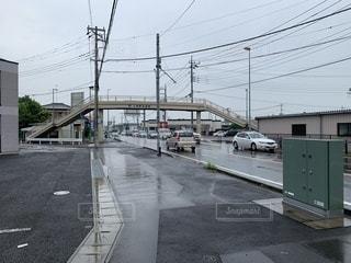 歩道橋の写真・画像素材[3595297]