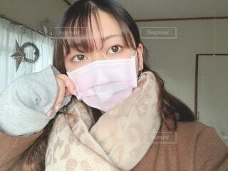 マスクをしている女性の写真・画像素材[4020372]