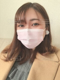 マスクの女性の写真・画像素材[4176243]