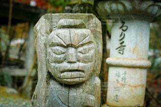 古いお寺にあった味のある彫刻の写真・画像素材[3600023]